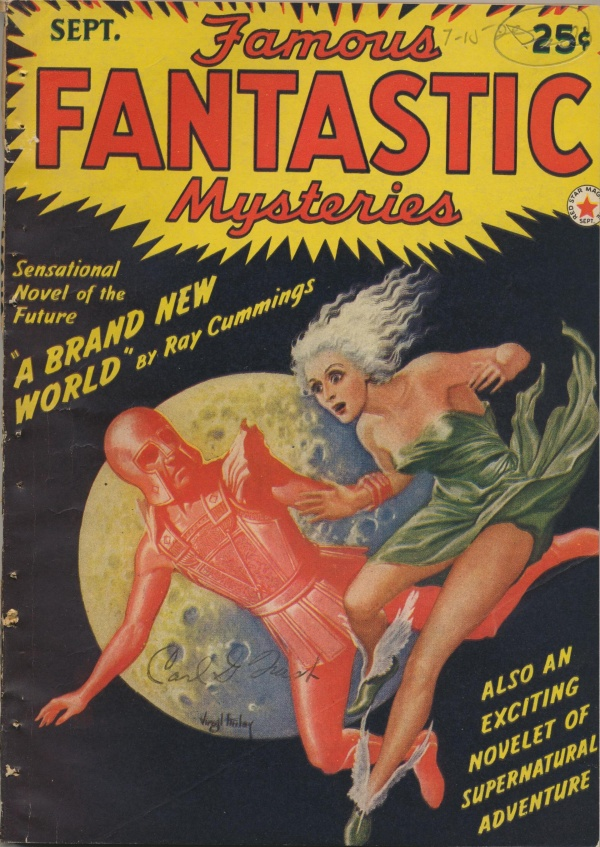 Famous Fantastic Mysteries september 1942