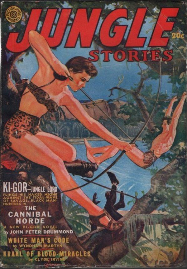 Jungle Stories 1942 Fall
