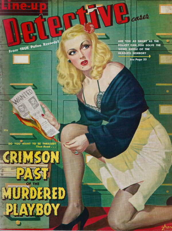 Line up Detective October 1948