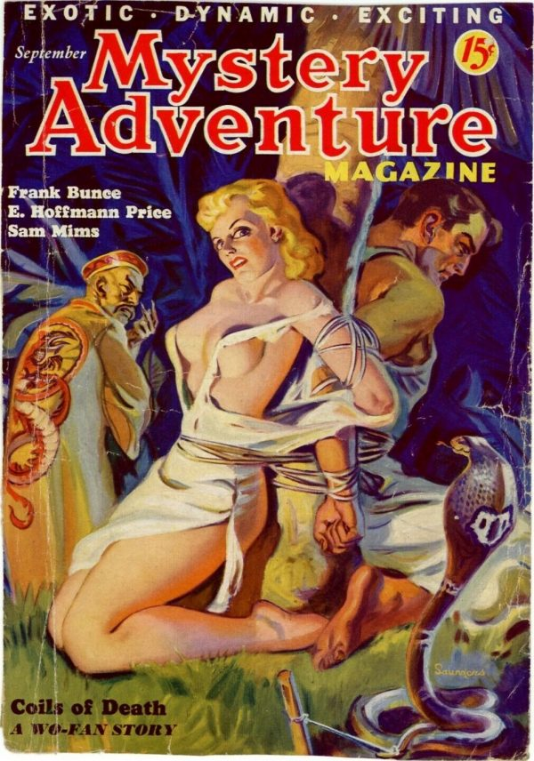 Mystery Adventure Magazine, September 1936