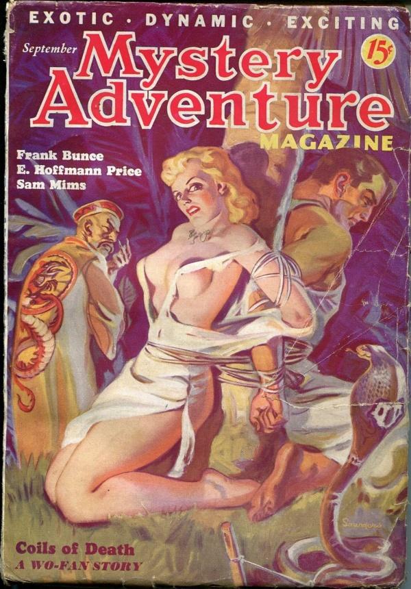 Mystery Adventure September 1936
