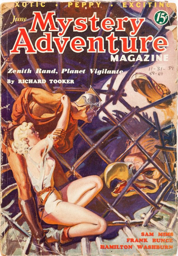 Mystery Adventures Magazine - June 1936