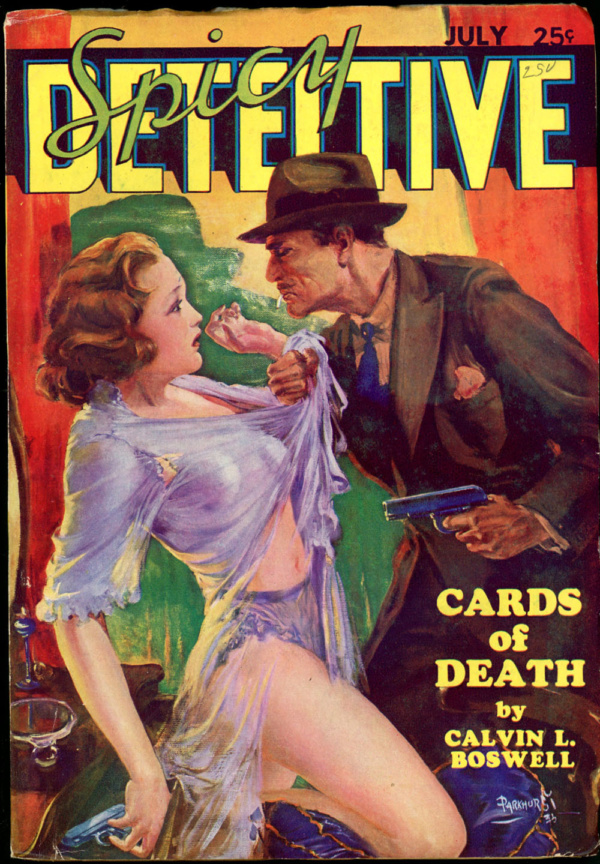 SPICY DETECTIVE STORIES. July 1935