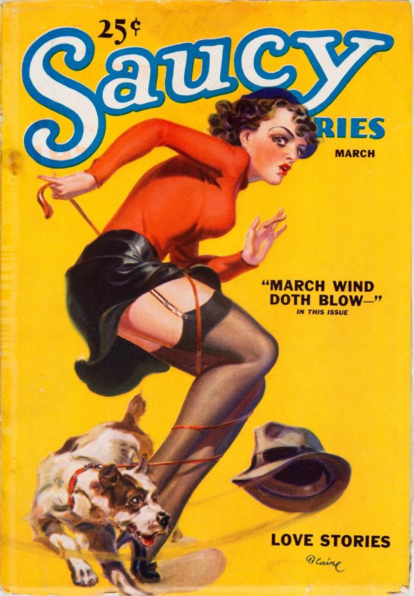 Saucy Stories - March 1936