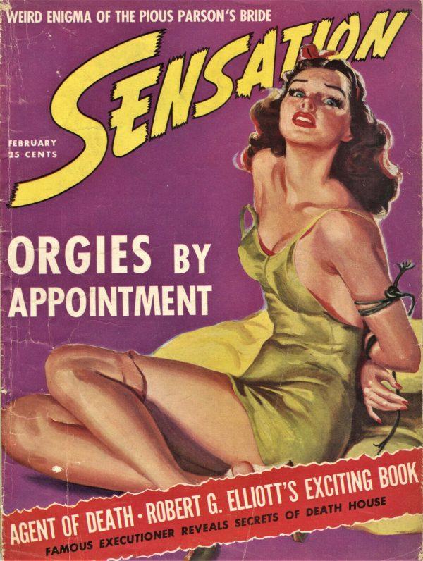 Sensation Magazine February 1942