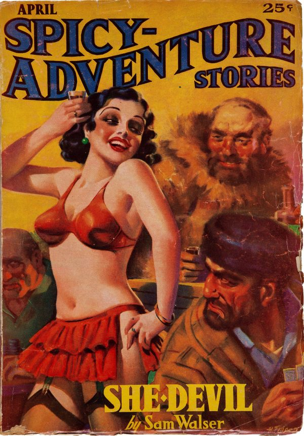 Spicy Adventure Stories - April 1936