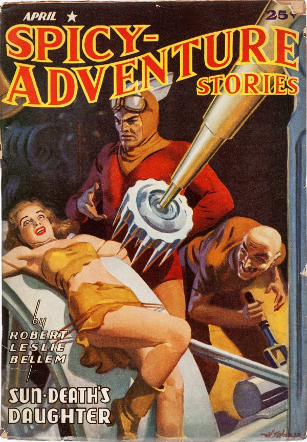 Spicy Adventure Stories - April 1941