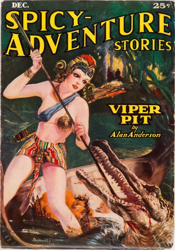 Spicy Adventure Stories - December 1936