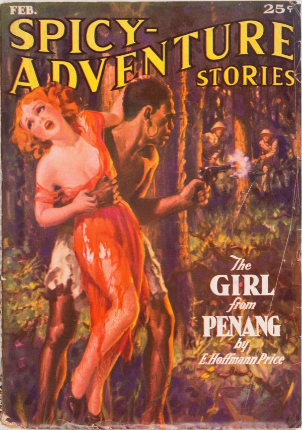 Spicy Adventure Stories - February 1936