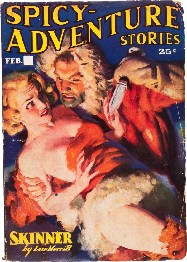 Spicy Adventure Stories - February 1937