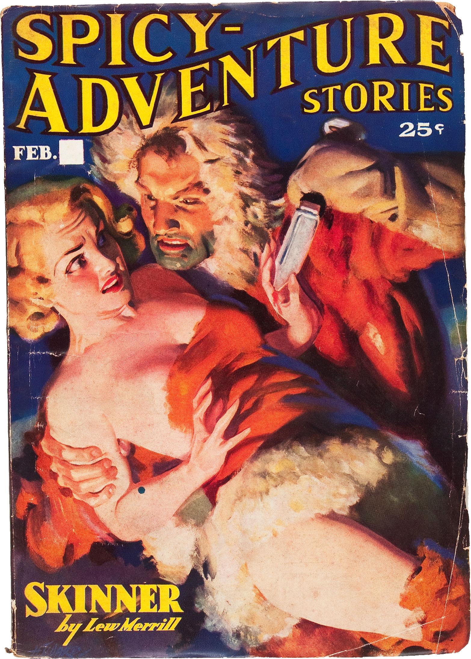 Spicy Adventure Stories - February 1937