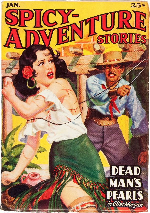 Spicy Adventure Stories January 1937