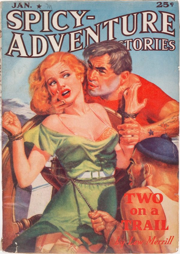 Spicy Adventure Stories - January 1938