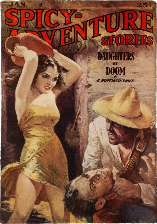 Spicy Adventure Stories - January 1939