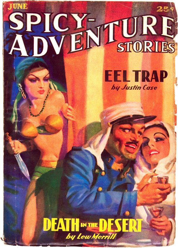 Spicy Adventure Stories - June 1936
