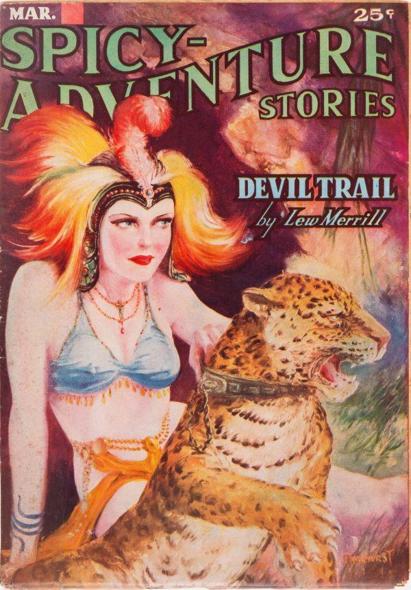 Spicy Adventure Stories - March 1937