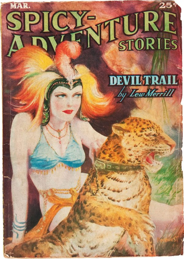 Spicy Adventure Stories - March 1937