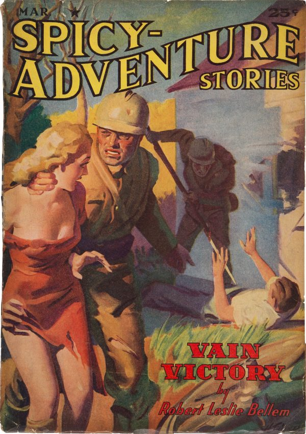 Spicy Adventure Stories - March 1940