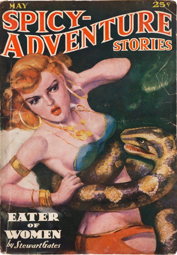Spicy Adventure Stories -May 1937