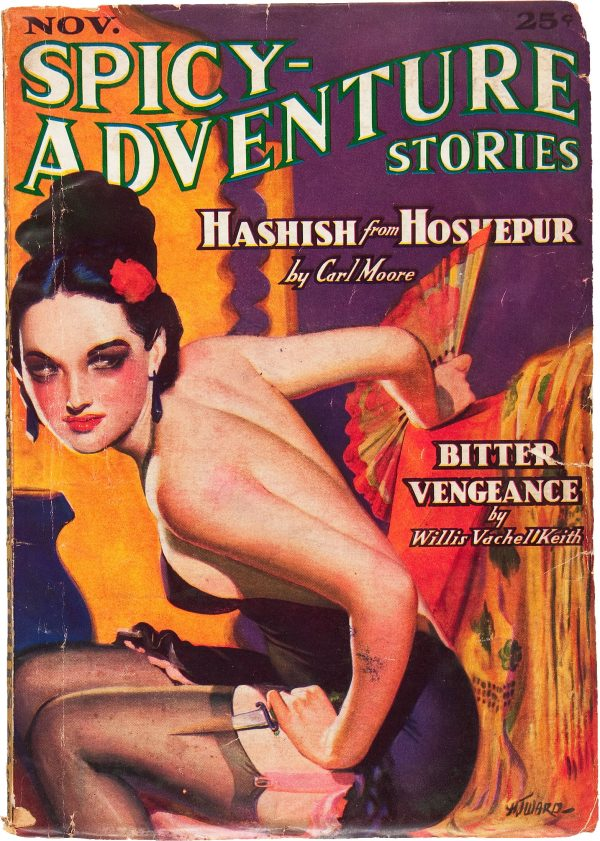 Spicy Adventure Stories - November 1936