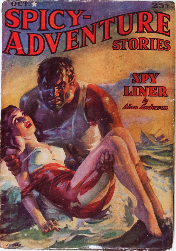 Spicy Adventure Stories - October 1937