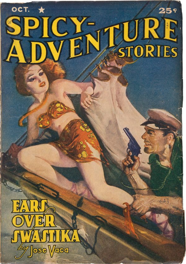 Spicy Adventure Stories - October 1941