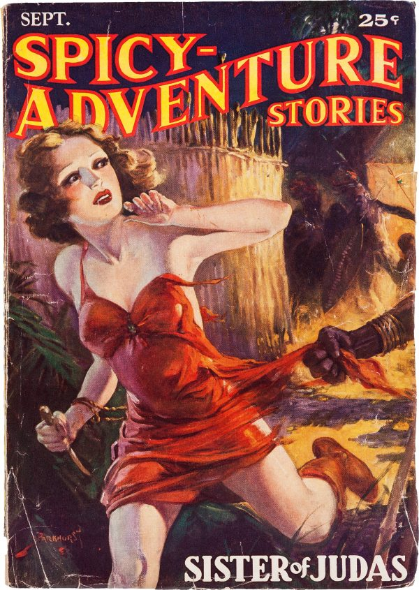 Spicy Adventure Stories - September 1935