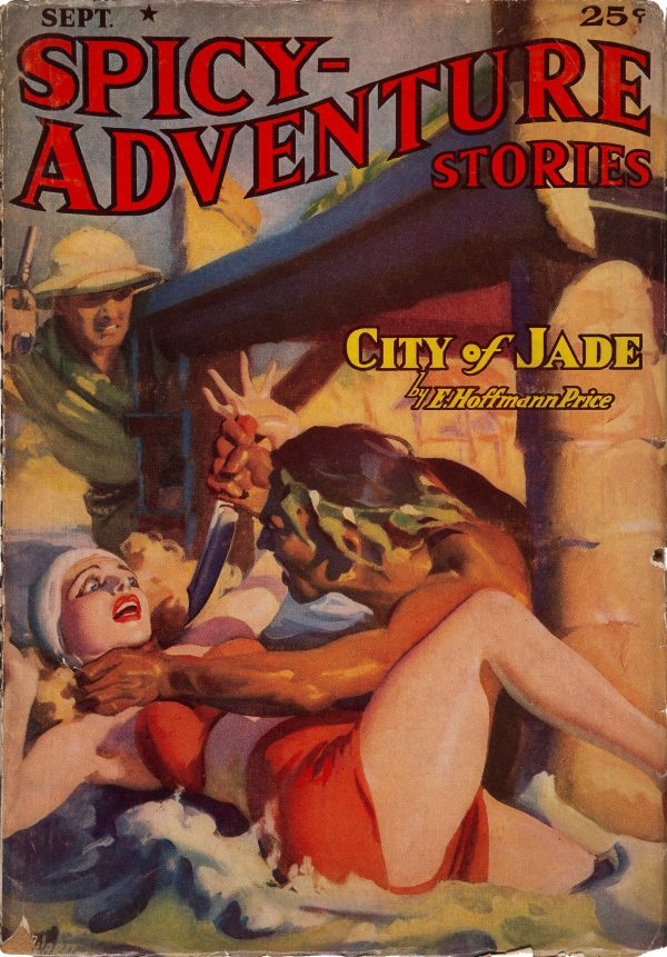 Spicy Adventure Stories - September 1938