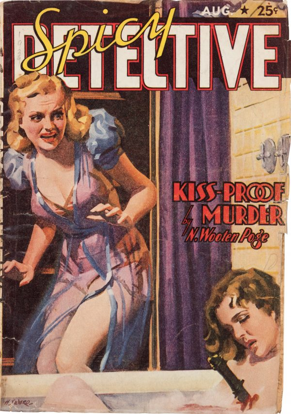 Spicy Detective - August 1939