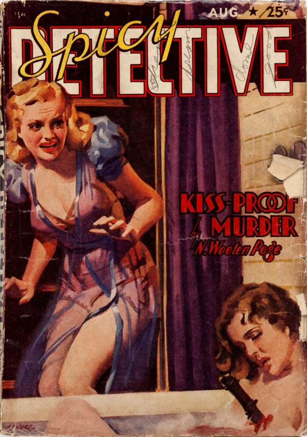 Spicy Detective Stories - August 1939