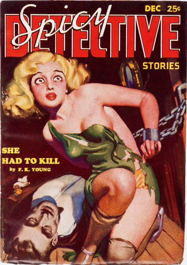 Spicy Detective Stories December 1934