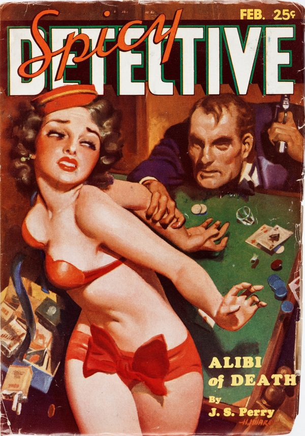 Spicy Detective Stories - February 1935