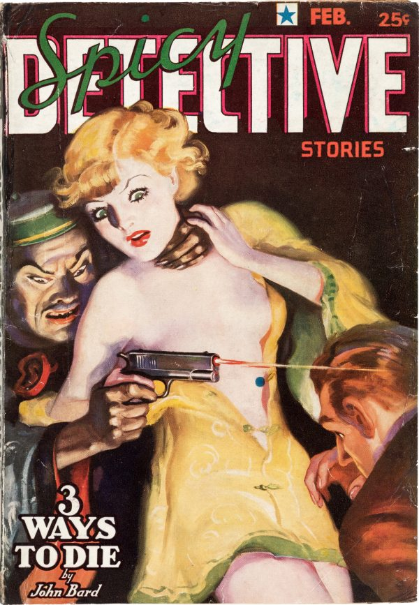 Spicy Detective Stories - February 1937