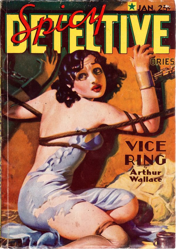 Spicy Detective Stories - January 1936