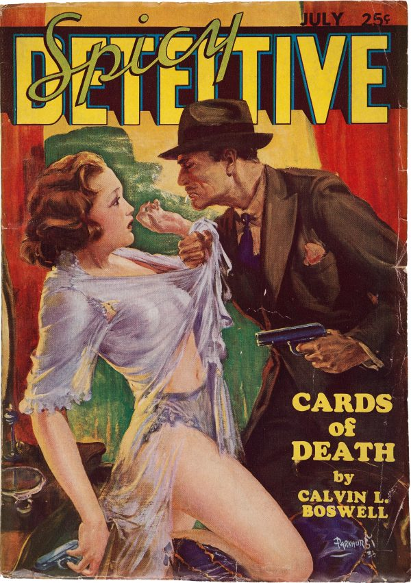 Spicy Detective Stories - July 1935