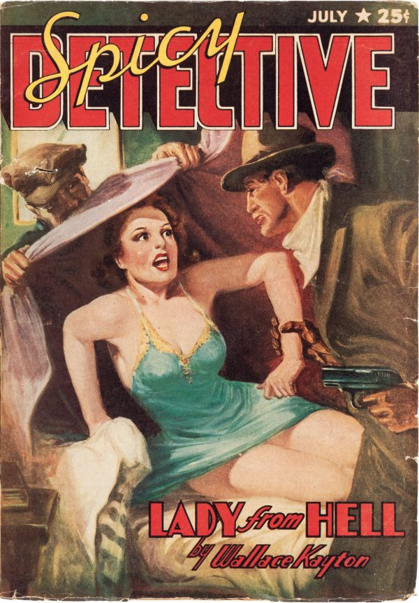 Spicy Detective Stories - July 1940