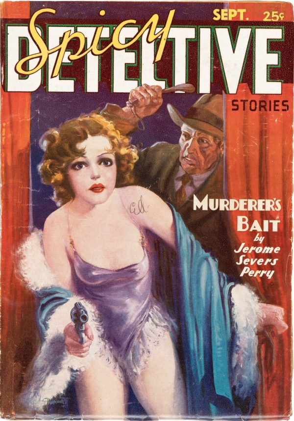 Spicy Detective Stories - September 1936