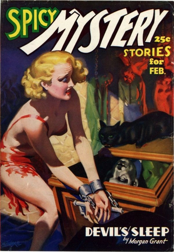 Spicy Mystery, February 1937