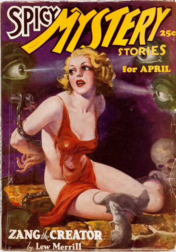 Spicy Mystery Stories - April 1936