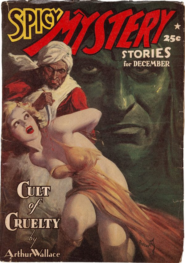 Spicy Mystery Stories - December 1939