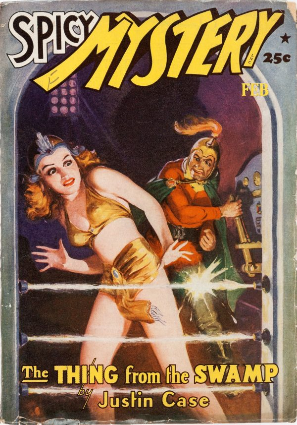 Spicy Mystery Stories - February 1942