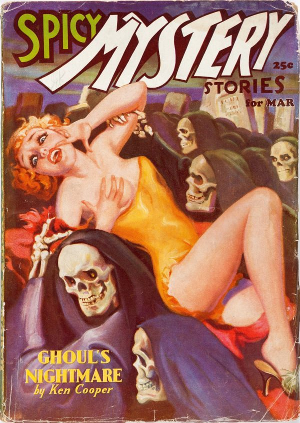Spicy Mystery Stories - March 1936
