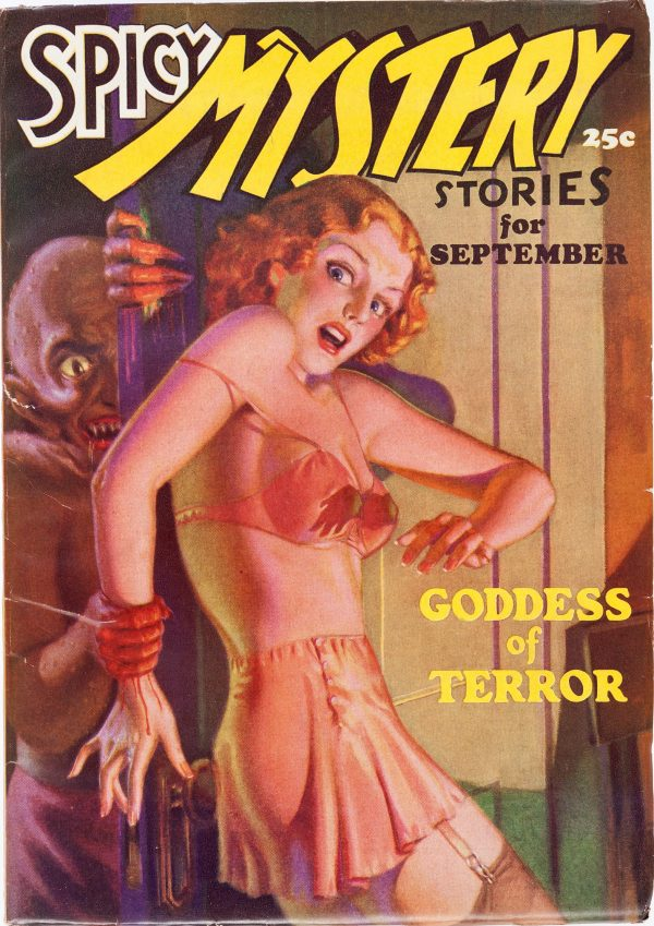 Spicy Mystery Stories - September 1935