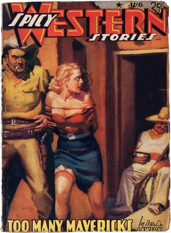 Spicy Western Stories - August 1941