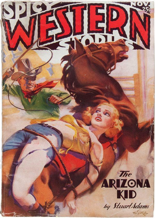 Spicy Western Stories - November 1936