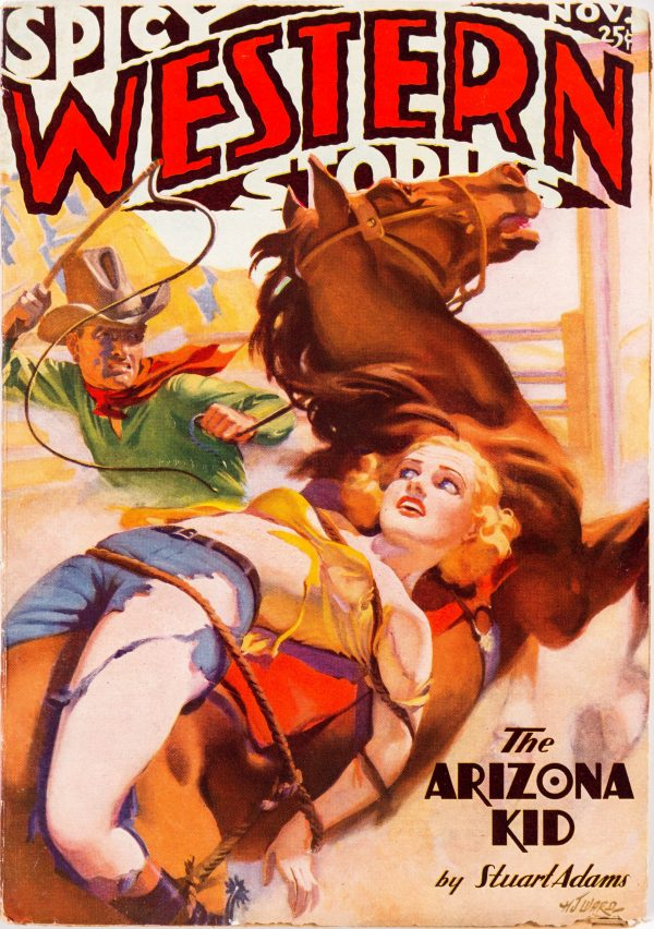 Spicy Western Stories - November 1936 A-Cover Variant