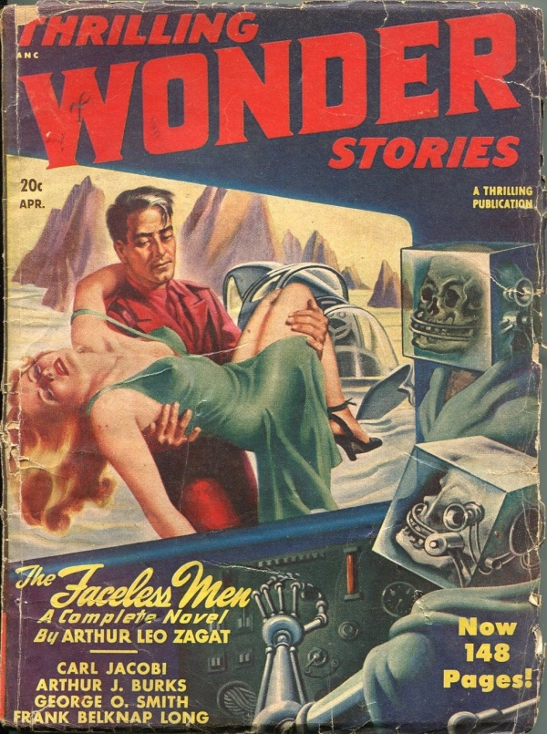 Thrilling Wonder Stories April 1948
