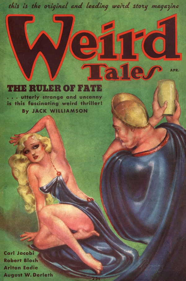 Weird Tales, April 1936
