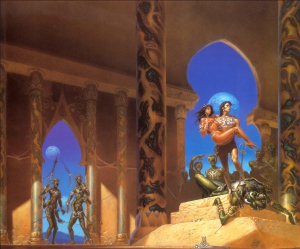 A Princess Of Mars by Michael Whelan
