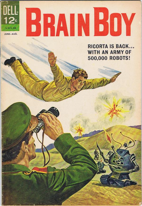Brain Boy #5 DEll 1963